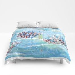 underwater life Comforters