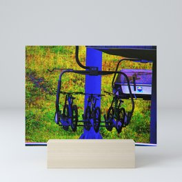 The Ride - Mountain Bikes Mini Art Print