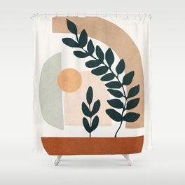 Soft Shapes III Shower Curtain