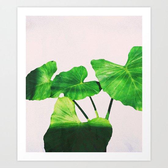Taro Dimensionality #society6 #decor #buyart Art Print