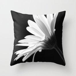 Flower BW Throw Pillow