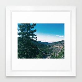 Mountains 10 Framed Art Print