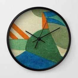 Caprichoso (Parintins - Brasil) Wall Clock