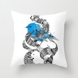 Tweet Your Art. Throw Pillow