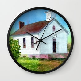 Peach Grove School Wall Clock