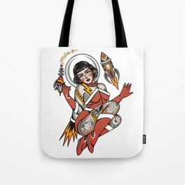 Out of this world (digital illustration) Tote Bag
