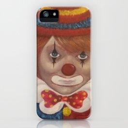 clown boy iPhone Case