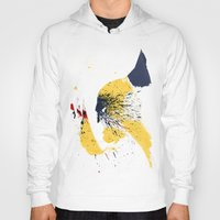 animal crew Hoodies featuring Animal by Arian Noveir
