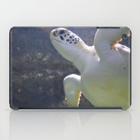 turtles iPad Cases featuring Turtles by Irene Jaramillo