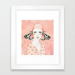 Julie Framed Art Print
