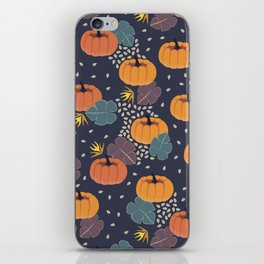 Pumpkin Patch iPhone Skin