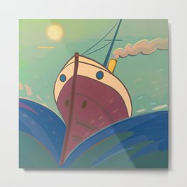 PROW facing the Twenty Twenty Metal Print