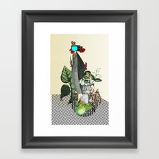 The truth is dead 2 Framed Art Print