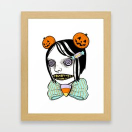 cavity cutie I Framed Art Print