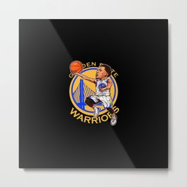 State Warriors Metal Print