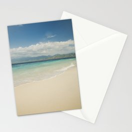 Gili meno island beach Stationery Cards