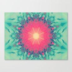 Iced Magma Canvas Print