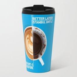 Coffee - nyc vs istanbul Travel Mug