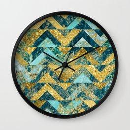 Marble Glitz Wall Clock