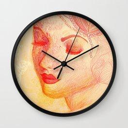 Paloma Roja Wall Clock