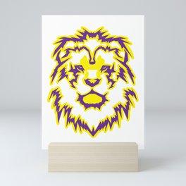 Calm Leo Mini Art Print