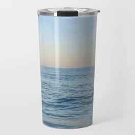 Calm Waves at the Beach Travel Mug