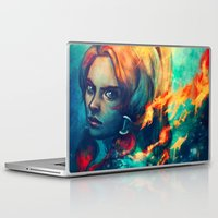airbender Laptop & iPad Skins featuring Legend by Alice X. Zhang