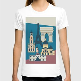 Paris - Cities collection  T-shirt