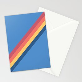 Retro Rainbow Warrior Stationery Cards