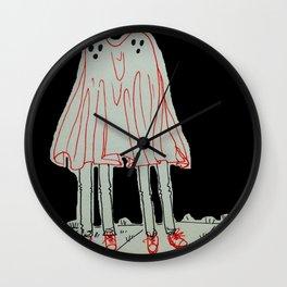 Ghosting At It Wall Clock