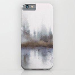 lake mist iPhone Case