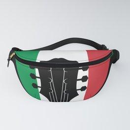 Italy Flag Guitar Plectrum Fanny Pack