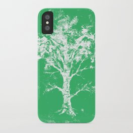 Green Tree iPhone Case
