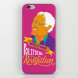 Welcome to the Political Revolution iPhone Skin