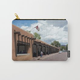 Santa Fe Old Town Square, No. 5 of 7 Carry-All Pouch