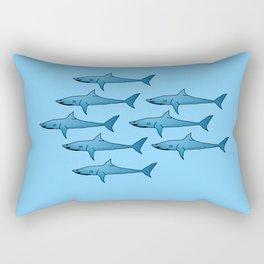 military of sharks Rectangular Pillow