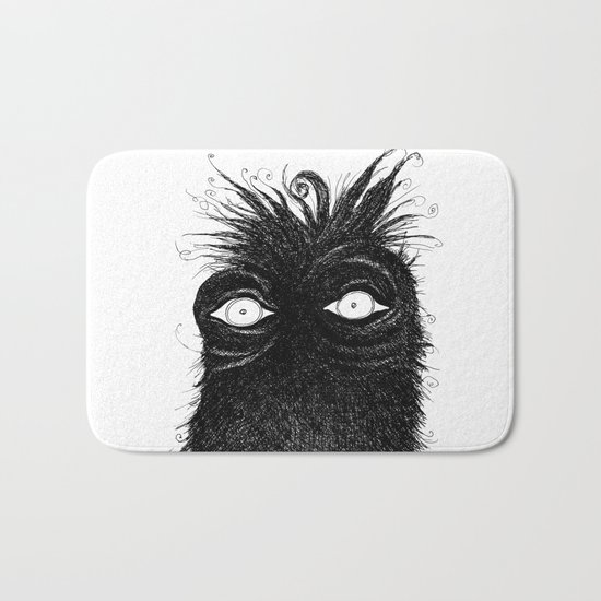 The Stare Bath Mat