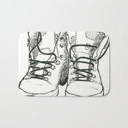 Walking Boots Bath Mat