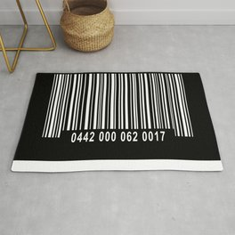 Barcode Inverse Rug