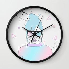 YOUTH- Doodling & Illustration 003 Wall Clock