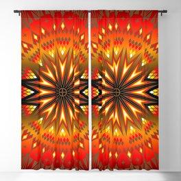 Fire Spirit Blackout Curtain