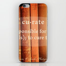Curate iPhone Skin