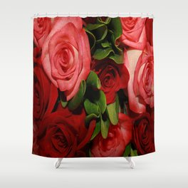 Forever Love - Roses Shower Curtain
