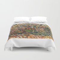 urban Duvet Covers featuring urban by gasponce