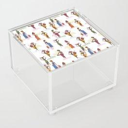 Africa women Acrylic Box