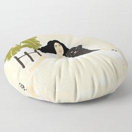 Best friendship story Floor Pillow