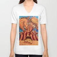 politics V-neck T-shirts featuring American Politics by dan jones creative