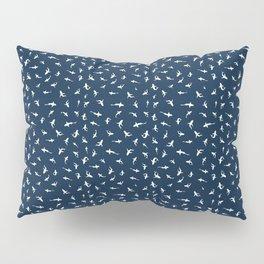 Silky Sharks Pattern Pillow Sham