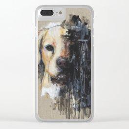 Wishy Washy Clear iPhone Case