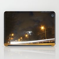 broadway iPad Cases featuring Broadway night blur by RMK Photography